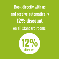 Book directly with us and receive automatically 10% discount on all standard rooms.